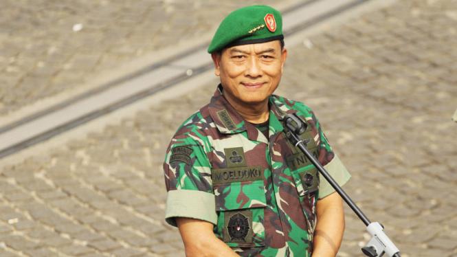 Kepala Staf TNI Angkatan Darat (KSAD) Jenderal Moeldoko