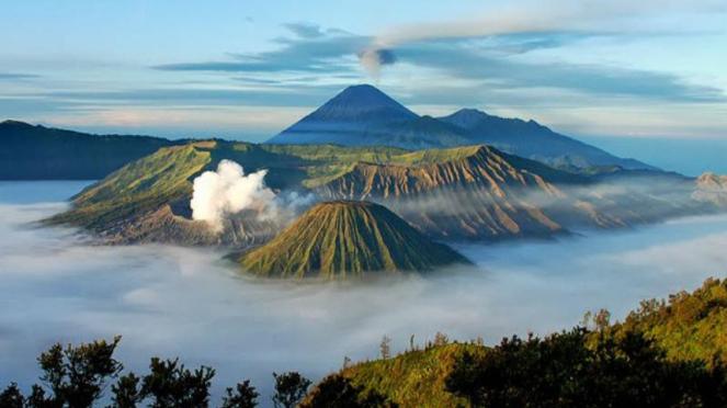 Gunung berapi yang paling menakjubkan di dunia.