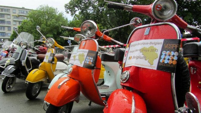 Vespa world days.