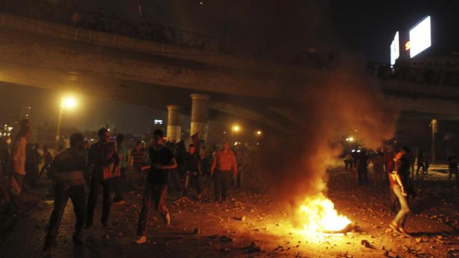 Massa Pro dan Anti Mursi di Kairo, Mesir