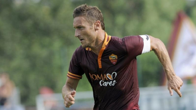 Kapten AS Roma, Francesco totti