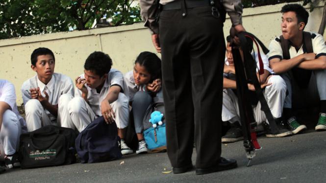Polisi Amankan Tawuran Pelajar