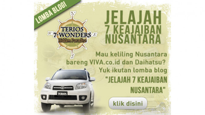 Daihatsu Ajak Blogger Berpetualang Keliling Nusantara bersama Terios