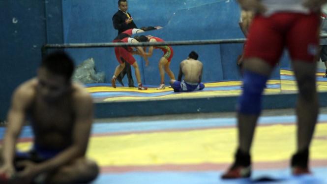 Seleksi Gulat SEA Games Myanmar