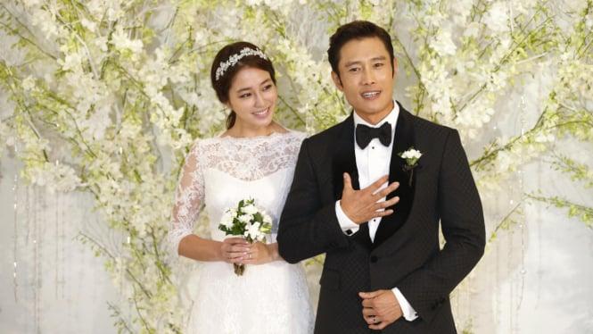 Lee Min Jung dan Lee Byung Hun