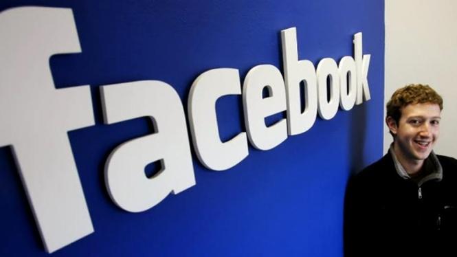 Pendiri dan CEO Facebook, Mark Zuckerberg.
