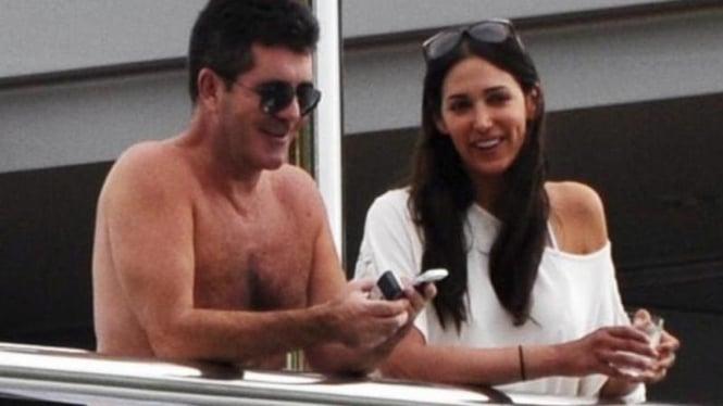Simon Cowell dan Lauren