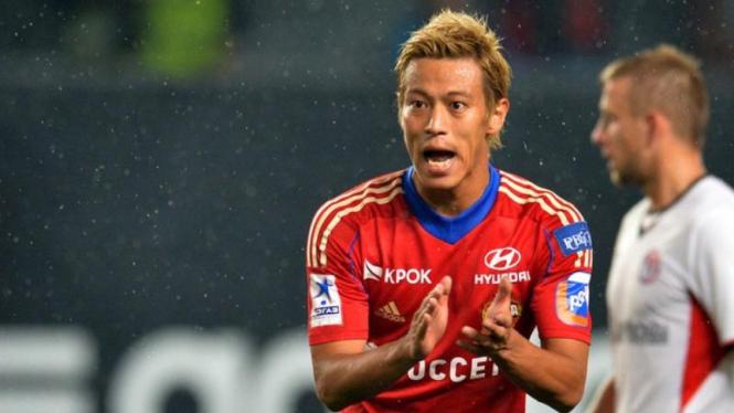Pemain CSKA Moscow, Keisuke Honda