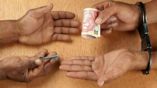 Korupsi (Foto ilustrasi).