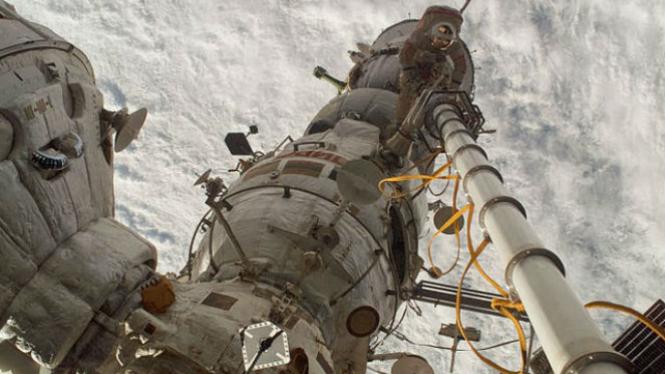 Stasiun Luar Angkasa Internasional (ISS).
