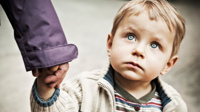 Ilustrasi anak trauma
