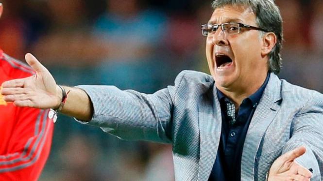 Pelatih Barcelona, Tata Martino