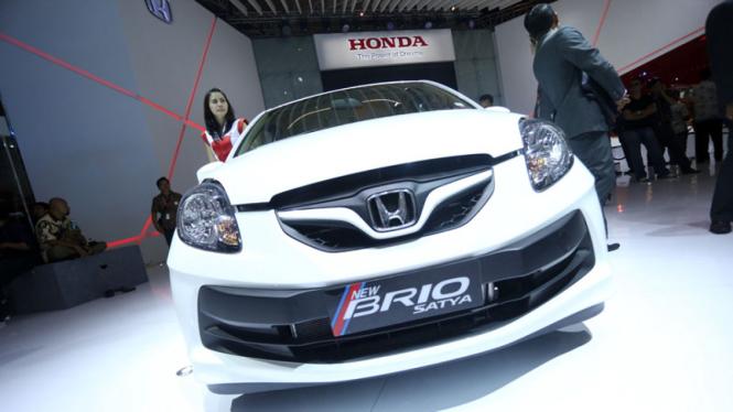 Honda tengah sibuk merancang mobil tujuh penumpang dengan basis Brio.