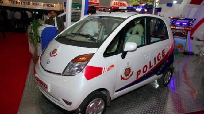 Tata Nano jadi mobil dinas polisi India