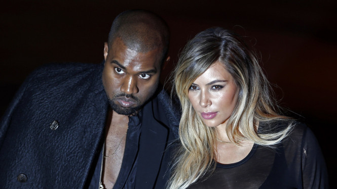 Kim Kardashian dan Kanye West diterpa isu cerai