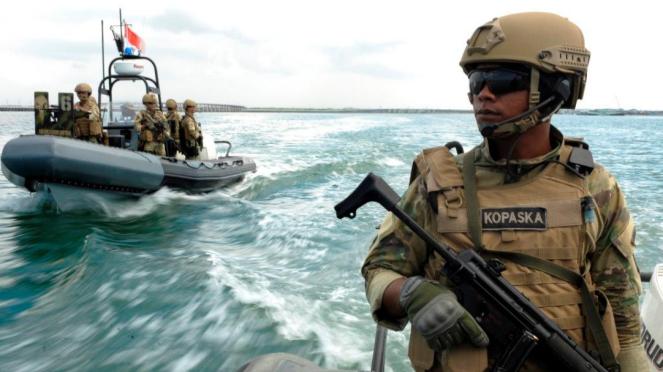 Komando Pasukan Katak (Kopaska) bisa diandalkan untuk operasi penyelamatan sandera.