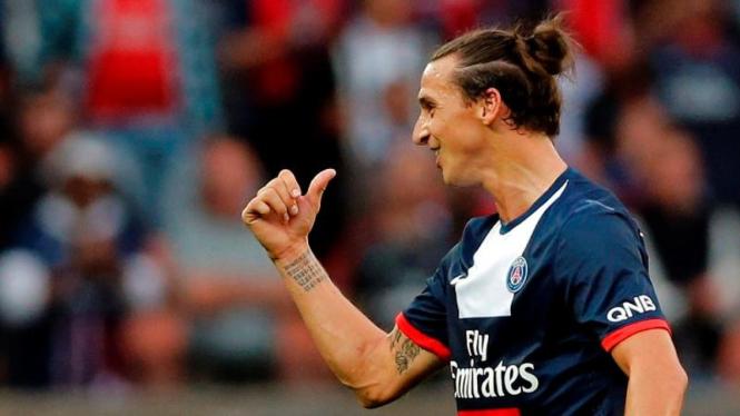 Pemain Paris Saint-Germain, Zlatan Ibrahimovic