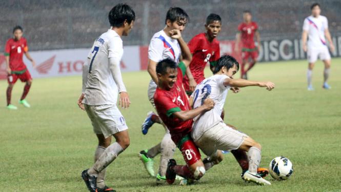 Timnas Indonesia Vs Korea Selatan di AFC Cup U-19