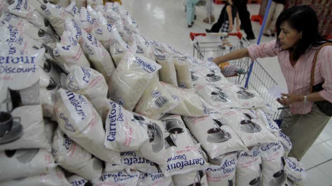 Belanja di Carrefour
