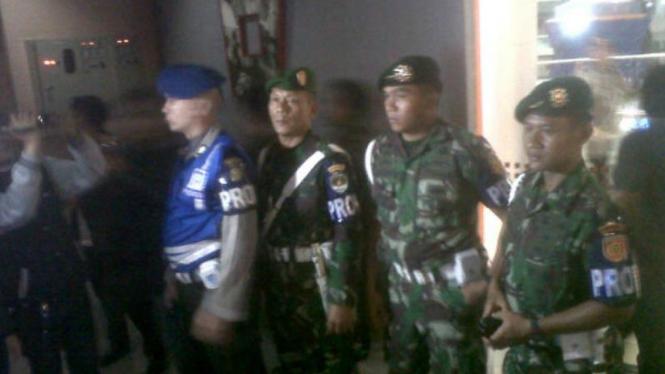 Razia gabungan TNI-Polri di tempat hiburan malam (foto ilustrasi)
