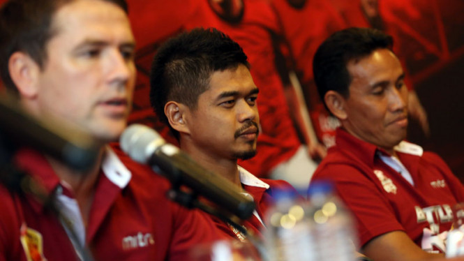 Konfrensi Pers Bambang Pamungkas Menjelang Battle of Red