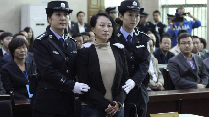 Korupsi China Sorot