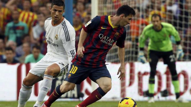 Barcelona Bungkam Madrid di Camp Nou