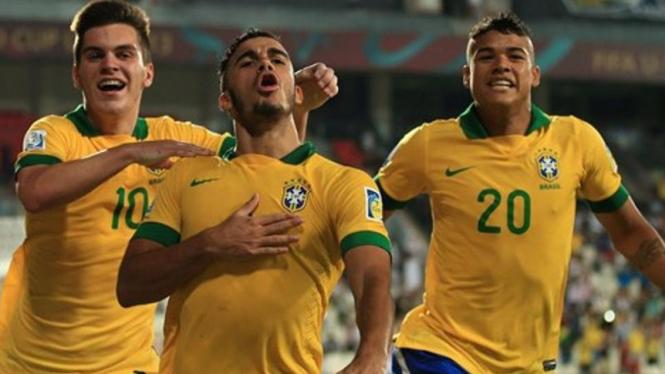 Pemain timnas U-17 Brasil