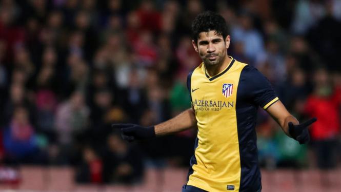 Striker Atletico Madrid, Diego Costa