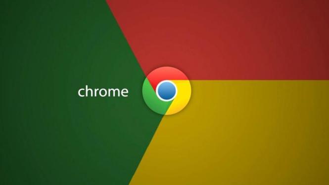 Logo Google Chrome.