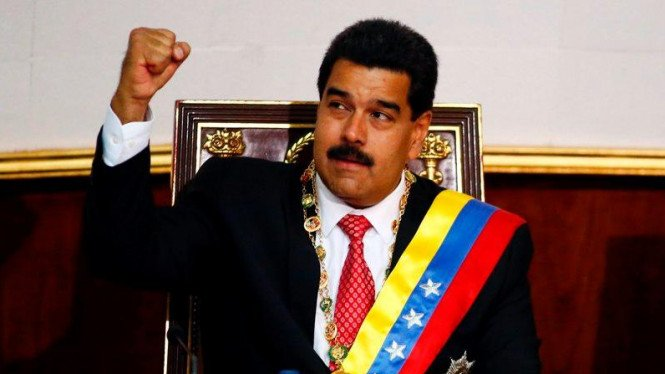 Presiden Venezuela Nicolás Maduro.