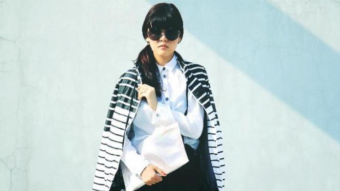 Sonia Eryka, fashion blogger Indonesia