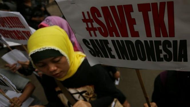 Ilustrasi/Perlindungan tenaga kerja Indonesia