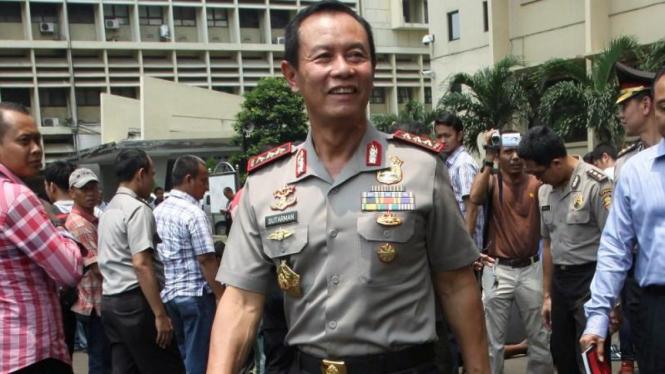 Kapolri Komisaris Jenderal Sutarman