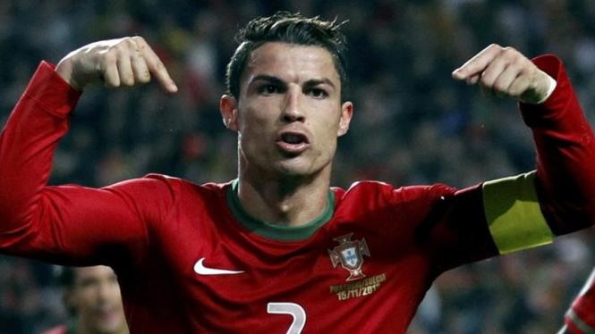 Pemain Timnas Portugal, Cristiano Ronaldo