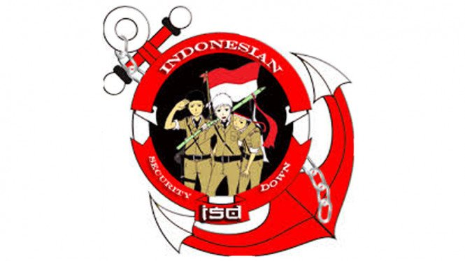 logo indonesian security down