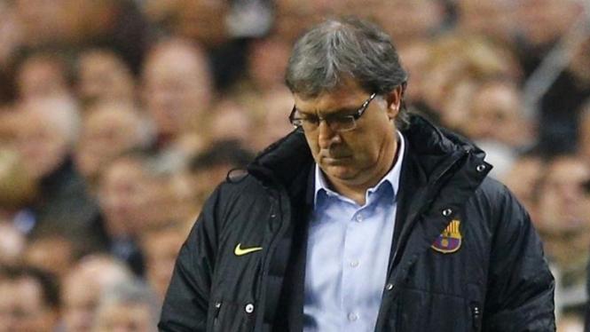 Pelatih Barcelona, Gerardo Martino