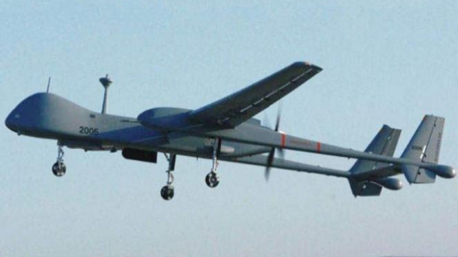 Pesawat tanpa awak (drone).