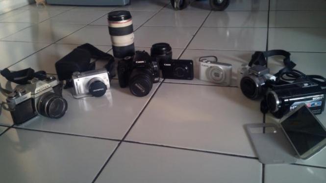Berbagai jenis kamera