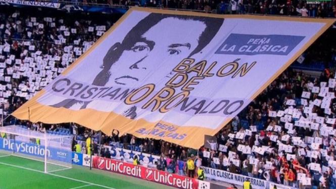 Dukungan untuk Cristiano Ronaldo meraih Ballon d'Or 2013
