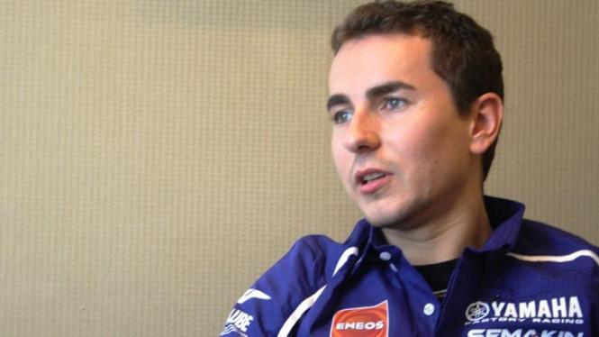 Pembalap Yamaha, Jorge Lorenzo mengunjungi Indonesia.