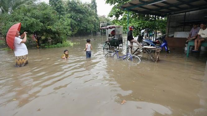 Tiga Perumahan Terendam Banjir di Tangerang