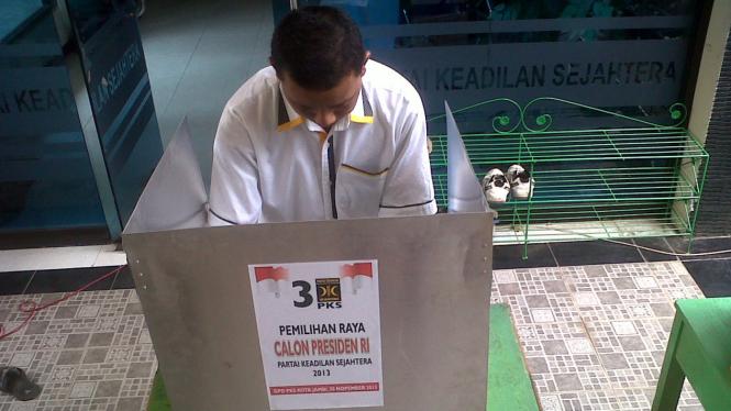 Pemilihan Raya Calon Presiden PKS