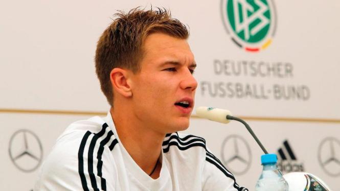 Pemain internasional Jerman, Holger Badstuber.