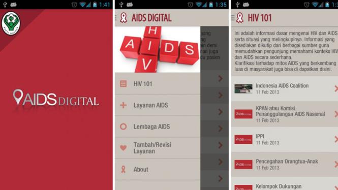 Aplikasi AIDS Digital