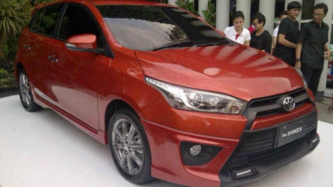 All New Yaris diproduksi Indonesia
