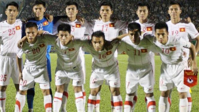 Para pemain Vietnam.