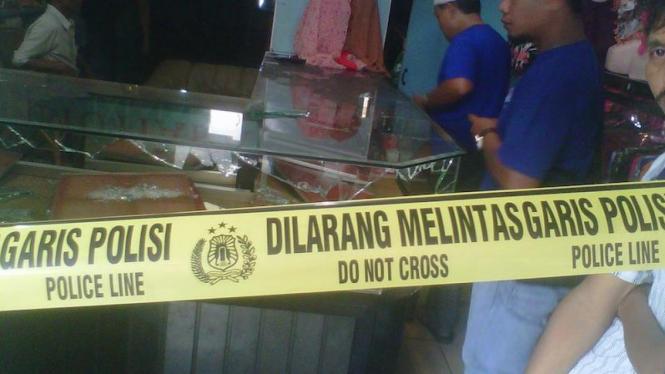 Perampokan Toko Emas di Palembang