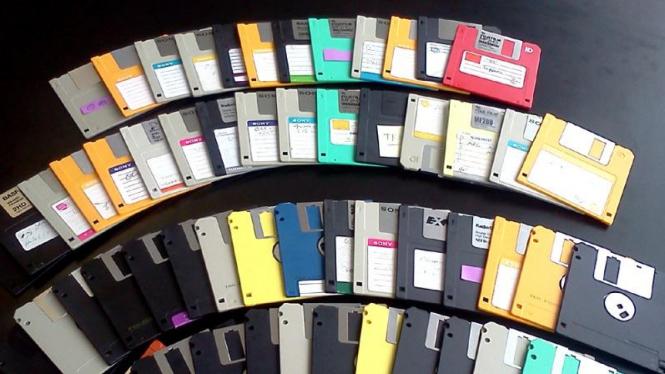 Disket floppy disk 3 1/2