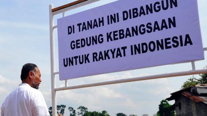 Bambang Widjojanto saksikan ground breaking pembangunan gedung KPK